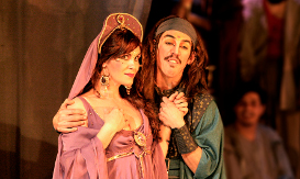 Paola Volpato, como la Condesa Olivia.