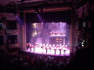 Teatre Tivoli, palco 16, segunda fila.