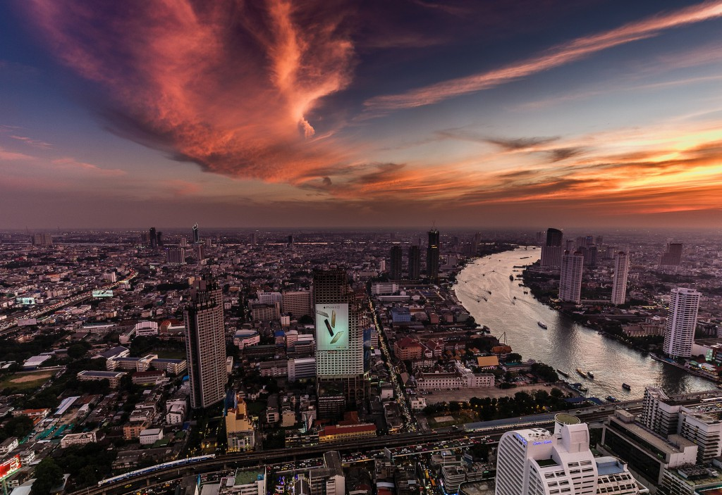 Foto 1 Vista desde el Sky Bar, Bangkok