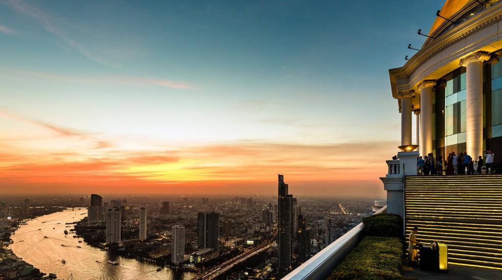 Foto 8 Vista desde el Sky Bar, Bangkok